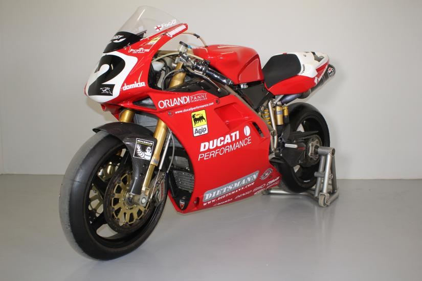 Ducati 996F98 ex-Fogarty Factory Corse, World Wining bike.