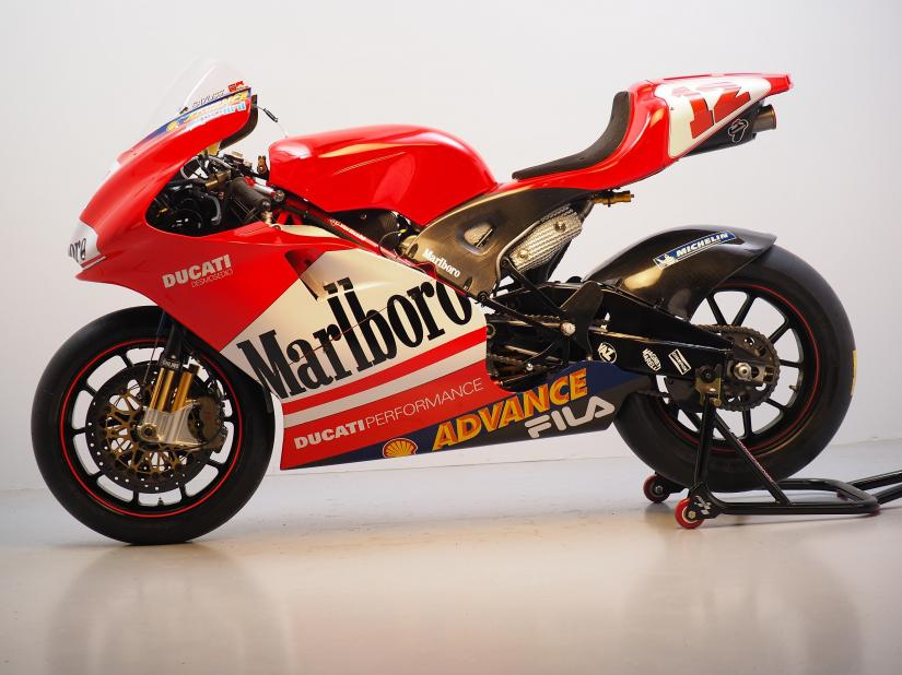 Ducati GP3 TB1 2003 ex-Troy Bayliss