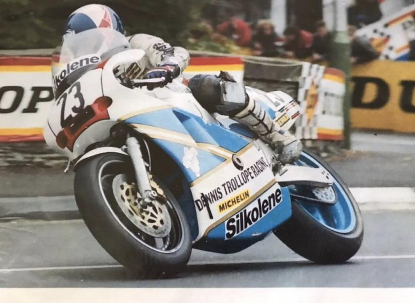 Bimota YB4 1988 TT/F1 World Championship, ex-Steve Williams